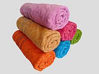 Махровое банное полотенце 140х70см (плетенка серебристая)