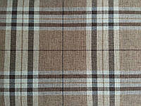 """Мебельная ткань """"Шотландка"""", шенилл"""