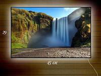 Картина с подсветкой Горный водопад 29х45