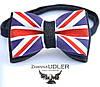 Бабочка с флагом Великобритании