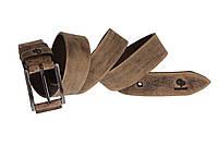 Мужской ремень из натуральной кожи 120*3.5 Rigatura Grande Pelle 312510901 тертый шоколад