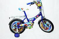 Детский велосипед Mustang ANGRY BIRDS (12-дюймов), синий