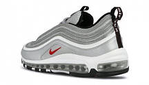 Кроссовки женские Nike Air Max 97 Silver Bullet топ реплика, фото 2