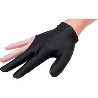 Бильярдная перчатка трехпалая, нейлон