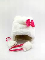 Детская шапка ушанка с 44 по 50 размер меховые детские шапки ушанки головные уборы теплые