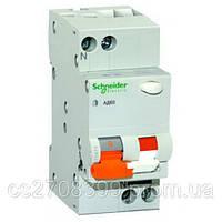 Дифференциальный автоматический выключатель ад63к 1п+н 10a 30ma c 18мм  12521