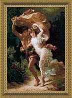 Набор для вышивки крестиком  По мотивам западноевропейской живописи Гроза