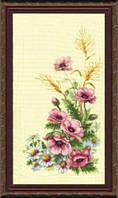 Набор для вышивки крестиком  Полевые цветы - 2