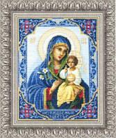 Набор для вышивки крестиком  Икона Божьей Матери Неувядаемый Цвет