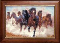 Набор для вышивки крестиком   Лошади