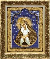Набор для вышивки крестиком   Икона Образ Пресвятой Богородицы Остробрамская