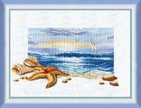 Набор для вышивки крестиком   Морской рассвет