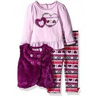 Детский комплект для девочки фиолетовый 86