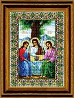 Набор для вышивки крестиком  Икона Пресвятой Троицы