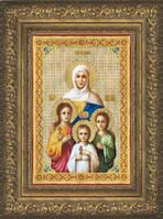 Набор для вышивки крестиком   Икона Вера, Надежда, Любовь и их мать София