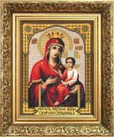 Набор для вышивки крестиком   Икона Божьей Матери Скоропослушница