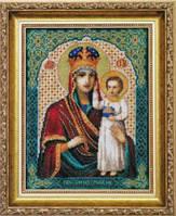 Набор для вышивки крестиком   Икона Образ Пресвятой Богородицы Призри на смирение