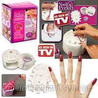 Набор для дизайна ногтей  «The Nail Perfect Kit»+ наклейки для ногтей! (Арт. 8998)