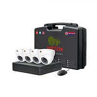 Комплект видеонаблюдения для помещения Partizan Indoor Kit 2MP 4xAHD, фото 1