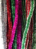 Дождики новогодние (5 см диаметр 2 м) код 7690