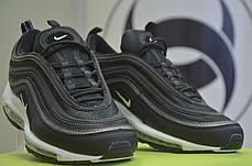 """Кроссовки мужские Nike Air Max 97 """"Black Bullet"""" черные топ реплика, фото 3"""
