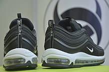 """Кроссовки мужские Nike Air Max 97 """"Black Bullet"""" черные топ реплика, фото 2"""