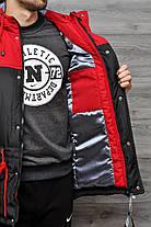 Весняна чоловіча куртка Nike червона топ репліка, фото 2