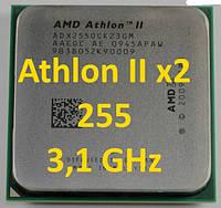 Процессоры (б/у) AMD Athlon II X2 255, 3,1ГГц, Tray