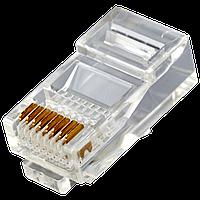 Конектор RJ45 8p8c, 100шт. у пакеті ATcom
