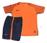Футбольная форма игровая Nike ( цвет - светло оранжевый )