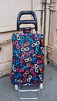 Хозяйственная сумка - тележка складная на колесиках