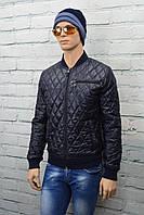 Мужские куртки весенние Турция Силикон, 3, 46, Турция, Плащевка, черный