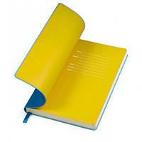 Бизнес-блокнот Funky Сине-желтый