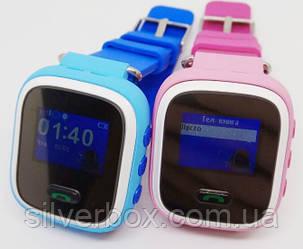 Умные детские часы-телефон Smart Baby Watch, оригинал, Q60 с цветным экраном,  GPS, гарантия