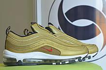 "Женские кроссовки Nike Air Max 97 ""Gold Bullet"" топ реплика, фото 2"
