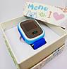 Умные детские часы-телефон Smart Baby Watch, оригинал, Q60 с цветным экраном,  GPS, гарантия, фото 3