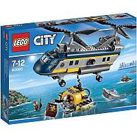 Пластмассовый конструктор LEGO City Вертолёт исследователей моря (60093)
