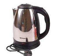 Чайник электрический Wimpex WX-2526: 2 л, 1850 Вт, автоматическое отключение, защита от перегрева