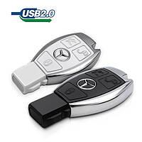 """Оригинальная флешка """"Mercedes Benz (мерседес)"""", брелок к сигнализации машины, 16 Гб"""