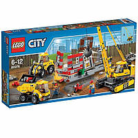 Пластиковый конструктор LEGO City Снос старого здания (60076)