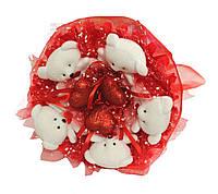 Букет из мишек Влюбленность