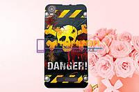Чехол-бампер TPU силиконовый Prestigio MultiPhone 3517 Wize NX3 рисунок 25 +ПОДАРОК