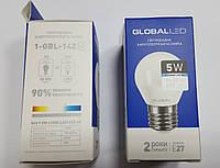 Лампа светодиодная  G45 F 5 W 4100K 220V E27 AP (1-GBL-142) (2000000100029)
