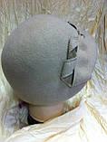 Фетровый берет с ассеметричным наклоном, фото 6