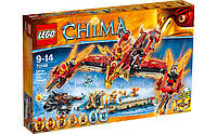 Пластмассовый конструктор LEGO Legends of Chima Огненный летающий Храм Фениксов (70146)