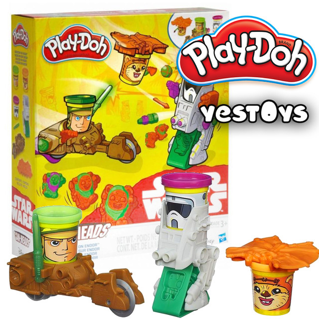 "Плей-Дох звездные войны ""Миссия на планете Ендор"" Star Wars Play-Doh (B2524)"