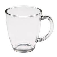 Чашка стеклянная (Бесцветный), 325 мл