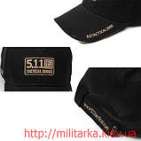 Кепка 5.11 США Recruit Cap черная, фото 2