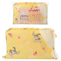 Защита для кроватки Vivast М V-612-01-1 (4 предмета)