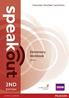Speakout Elementary Workbook with Key. Second Edition (Второе издание)